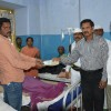 Financial help given for victims of Giddaluru road accident