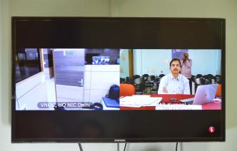Cabinate Secretery on Pradanamantri Krishi Sinchayee Yojana by Dist Collector